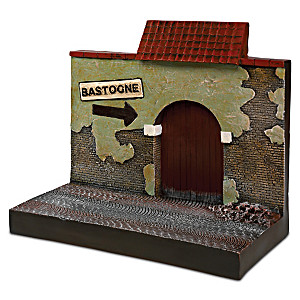 1:18-Scale WWII Bastogne Building Display Sculpture