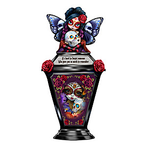 Luminous Love Sugar Skull Lantern