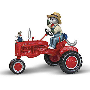 Farm Life Purr-ever Figurine