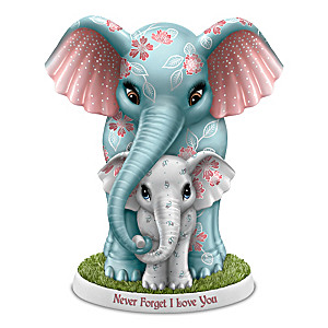 "Blake Jensen ""Never Forget I Love You"" Elephant Figurine"