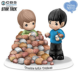 "STAR TREK ""Trouble With Tribbles"" Figurine"