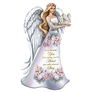 "Lena Liu ""Forever In Our Hearts"" Angel Figurine"