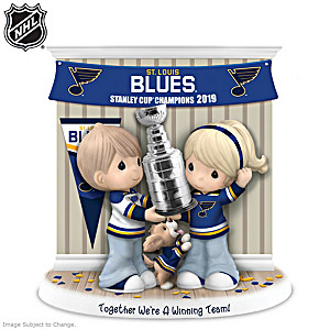 St. Louis Blues® Stanley Cup® Porcelain Figurine