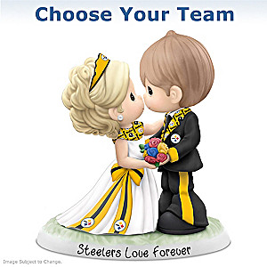 Precious Moments NFL Wedding Figurine: Choose Your Team