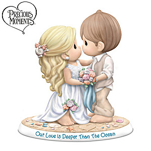 Precious Moments Beach Wedding Porcelain Figurine