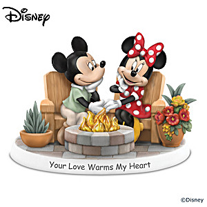 Disney Your Love Warms My Heart Illuminated Figurine
