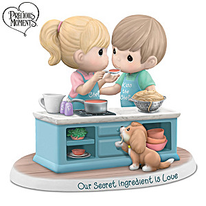 "Precious Moments ""Our Secret Ingredient Is Love"" Figurine"