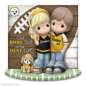 """Our Home Turf Is The Best Turf"" Steelers Figurine"