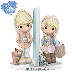 Precious Moments Porcelain Figurine Inspired By Women's Bond