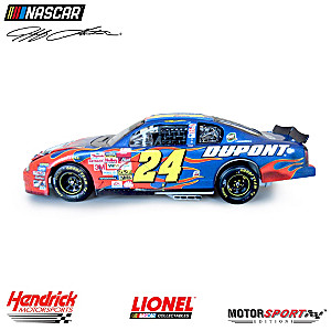 Jeff Gordon And Robbie Loomis Dual Autographed Diecast Car
