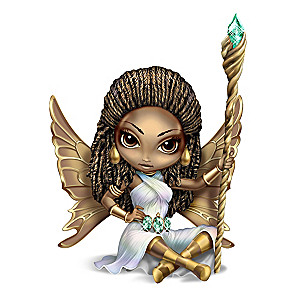 "Jasmine Becket-Griffith ""Spirit Of Emerald"" Fairy Figurine"