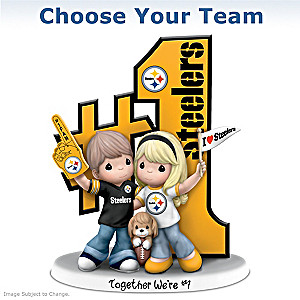 Precious Moments NFL Fan Figurine: Choose Your Team