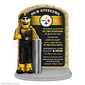 Pittsburgh Steelers Steely McBeam Sculpture