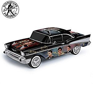 "Elvis ""King Of The Road"" 1957 Chevy Bel Air Sculpture"