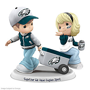 Precious Moments Together We Have Eagles Spirit Figurine