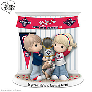 Nationals 2019 World Series Precious Moments Figurine