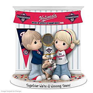 Nationals 2019 World Series Precious Moments Figurine