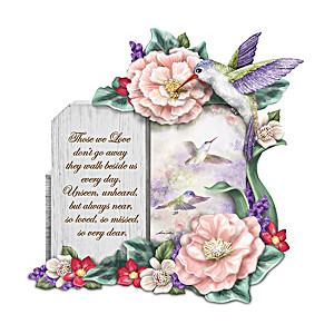 "Lena Liu ""A Love So Dear"" Hummingbird Remembrance Sculpture"