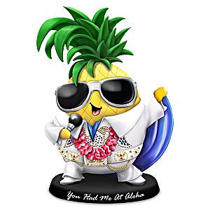 """""""You Had Me At Aloha"""" Elvis Figurine"""