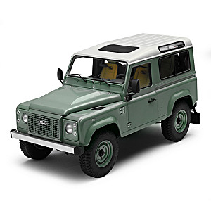 1:18-Scale Land Rover Defender 90 Heritage Diecast Car
