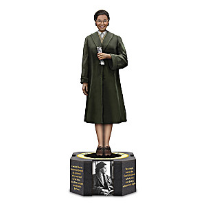 Rosa Parks Tribute Sculpture With Photos & Quotes