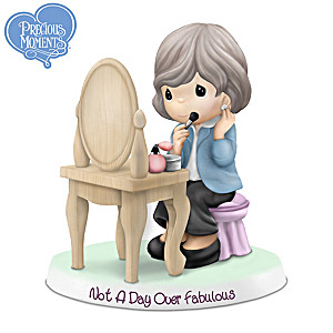 Precious Moments Not A Day Over Fabulous Figurine