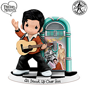 """All Shook Up Over You"" Precious Moments Elvis Figurine"