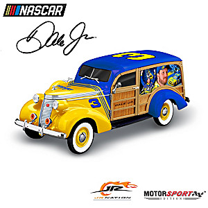 1:18-Scale Dale Jr. 1937 Studebaker Woody Wagon Sculpture