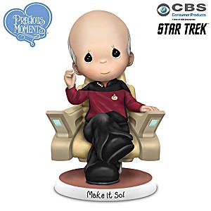 Precious Moments STAR TREK Make It So! Figurine