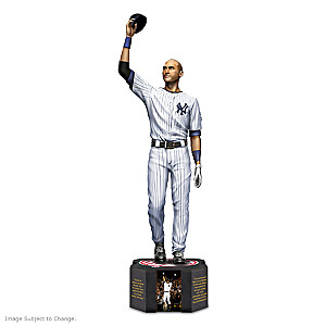 Derek Jeter Tribute Figurine With Photos And Quotes