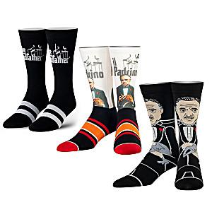 Godfather-Inspired Crew Socks 3-Pair Set