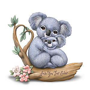 """Love You Fur-Ever"" Koala Figurine"