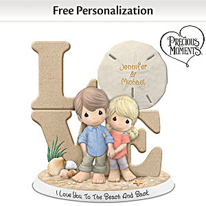 "Precious Moments ""I Love You To The Beach And Back"" Figurine"