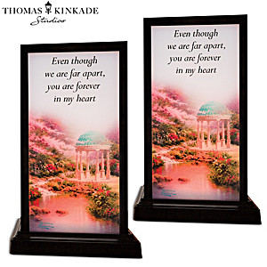 Thomas Kinkade Interactive Lamps Connect You And A Friend