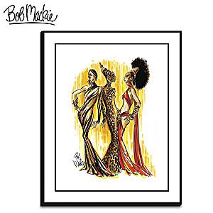 "Bob Mackie ""Soulful Beauties"" Wrapped Canvas Print"