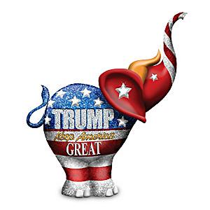 Donald Trump Keep America Great Elephant Figurine