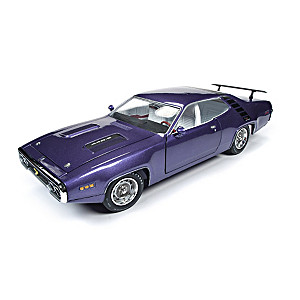 1:18-Scale 1971 Plymouth Road Runner RTS Hardtop Diecast Car