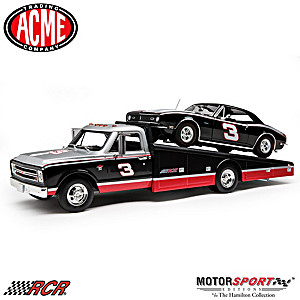 1:18-Scale RCR 1967 Chevy Ramp Truck And Camaro Diecast Set