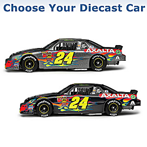 Jeff Gordon Hand-Autographed Diecast Car: Choose From 4