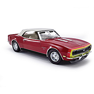 1:18-Scale 1968 Camaro Convertible Diecast Car