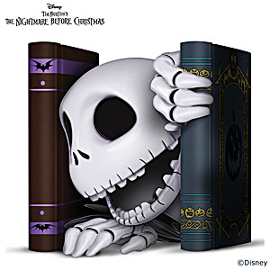 """The Nightmare Before Christmas """"Bone Daddy"""" Sculpture"""