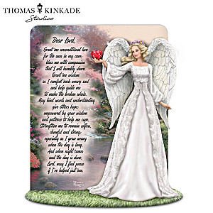 Angel Honors Caregivers With Thomas Kinkade Art And Prayer