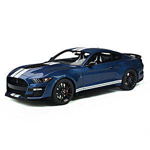 1:12-Scale 2020 Ford Shelby GT500 Replica Car Sculpture