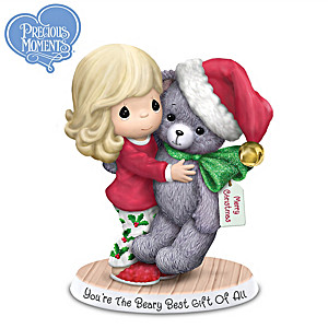 Precious Moments You're The Beary Best Gift Of All Figurine