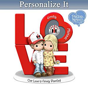 Precious Moments Farmall Couple Figurine