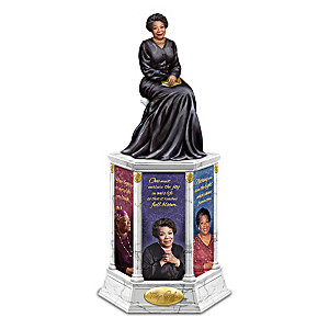 Dr. Maya Angelou Illuminated Tribute Tower Sculpture