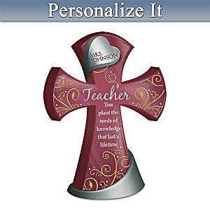 Teachers Are The Heart Of Learning Personalized Cross