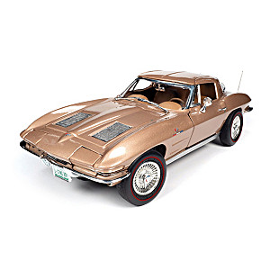 1:18-Scale 1963 Chevrolet Corvette Sting Ray Diecast Car
