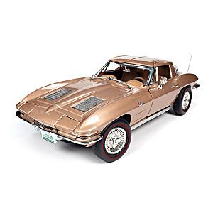 1:18-Scale 1963 Chevrolet Corvette Sting Ray Diecast Car