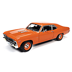 1:18-Scale 1970 Chevy Nova SS 396 Diecast Car